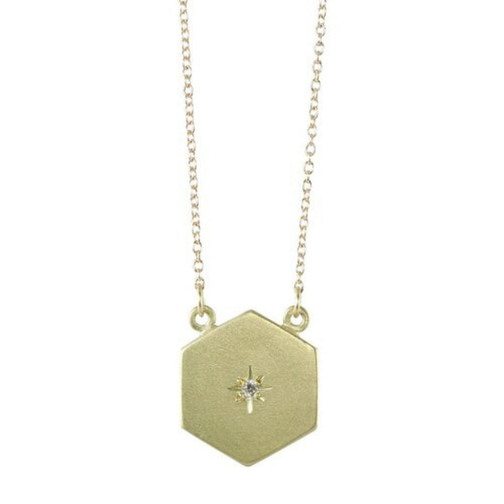 Starry Sky Hex Necklace