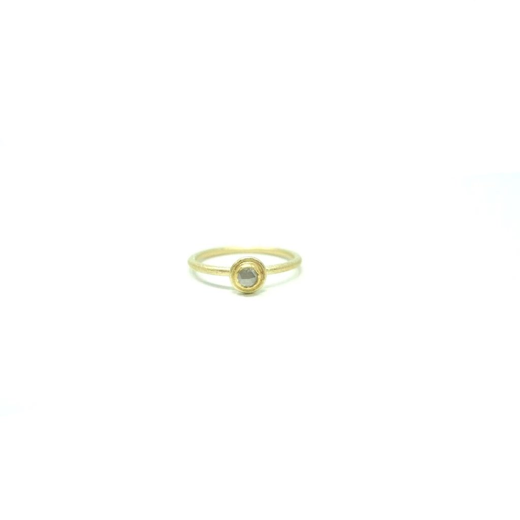 Diamond Ring with Frame