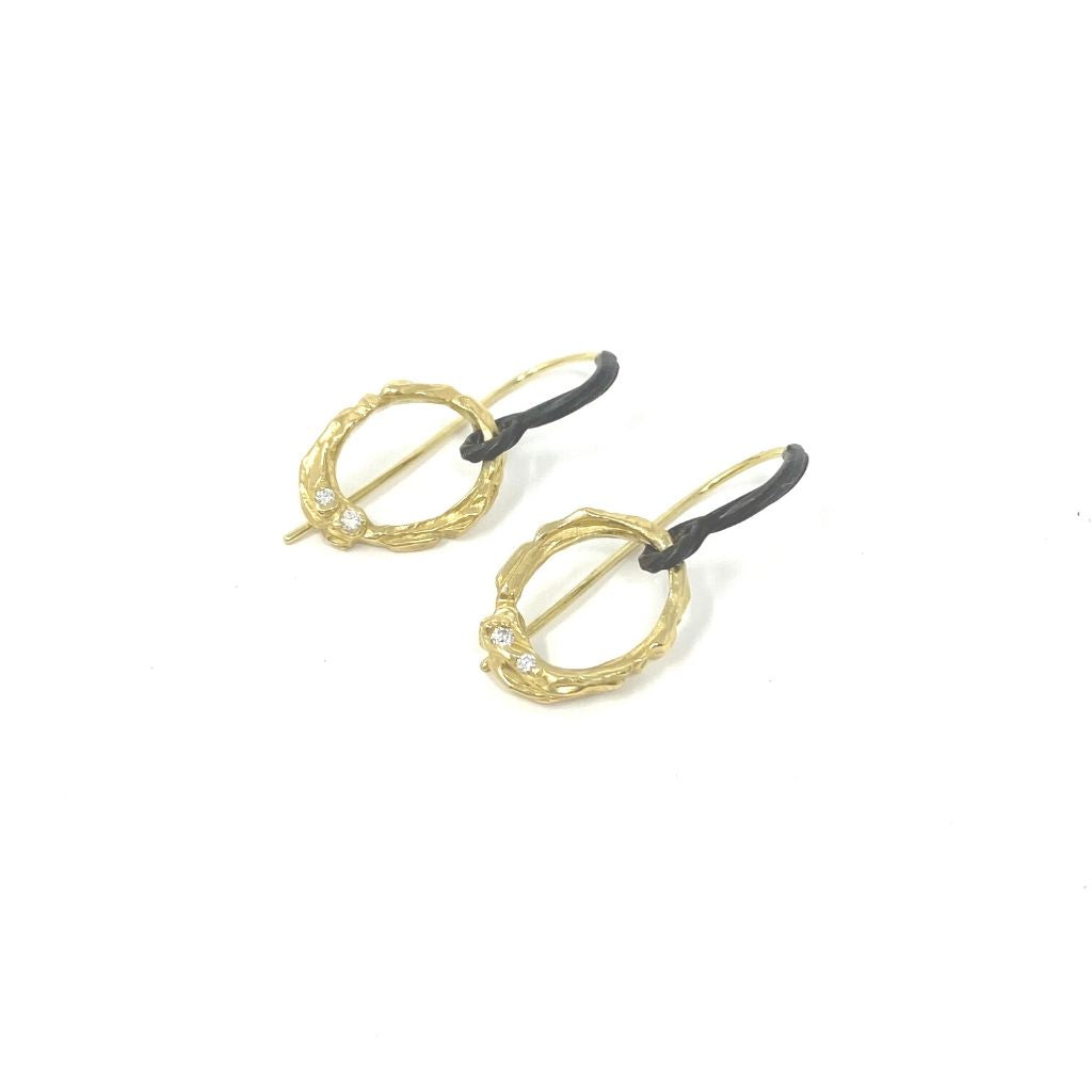 Arches Oval Earrings