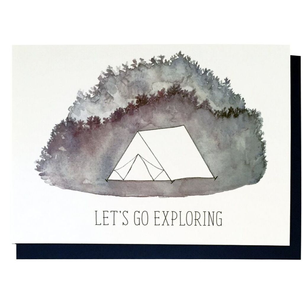 Let's Go Exploring Card