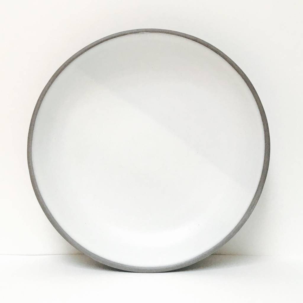 Wolf Dinner Plate Simple White