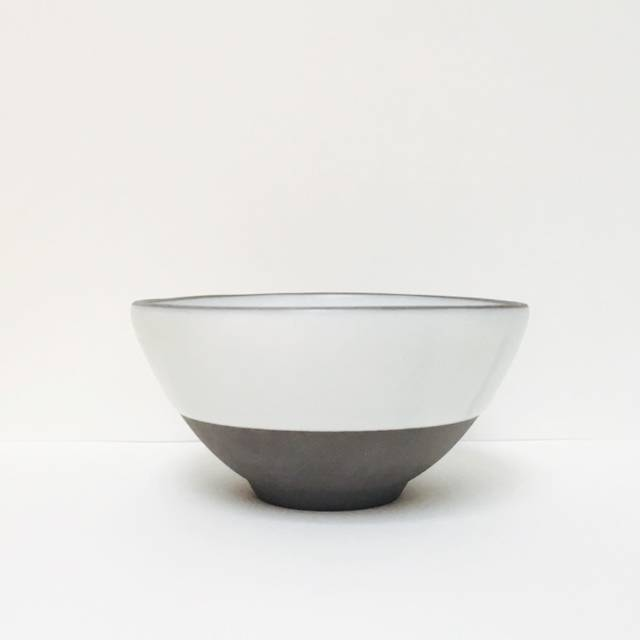Wolf Soup Bowl Simple White