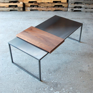 Hot-Rolled Steel Coffee Table
