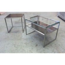 Load image into Gallery viewer, Custom Metal-Frame End Table