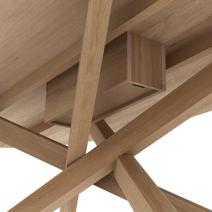 Oak Mikado Meeting Table