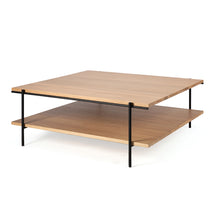 Load image into Gallery viewer, Oak Rise Square Coffee Table