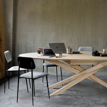 Load image into Gallery viewer, Oak Mikado Meeting Table