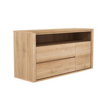 Load image into Gallery viewer, Oak Shadow Chest of Drawers