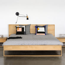 Load image into Gallery viewer, Oak Nordic II Bed