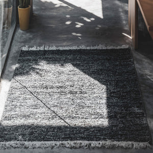 Aquarius Coal Area Rug
