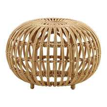 Load image into Gallery viewer, Rattan Ottoman