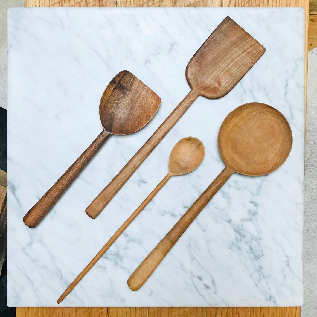 Simple Walnut Tools – Set of 4