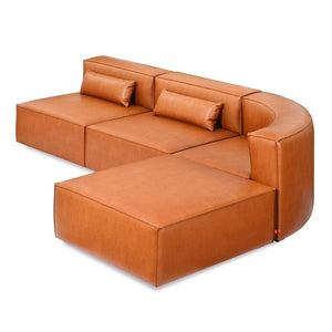 Mix Modular 4-Piece Wedge Sectional