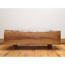 Load image into Gallery viewer, Walnut Chunk Coffee Table