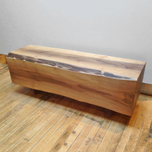 Walnut Chunk Coffee Table
