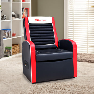 Shift Sport Junior X Rocker® 2.1 Audio Ottoman Gaming Chair (0611501)