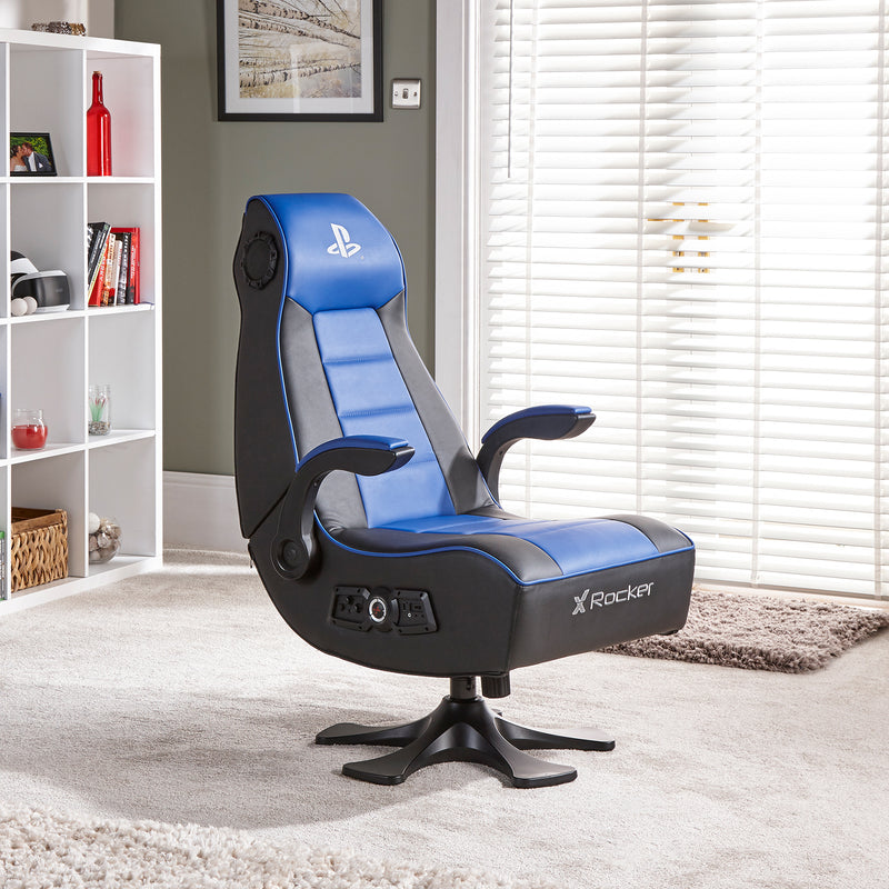 Groovy Playstation Officially Licensed Infiniti 2 1 X Rocker Inzonedesignstudio Interior Chair Design Inzonedesignstudiocom