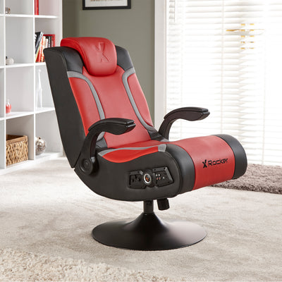 Vision  2.1 Wireless X Rocker® Pedestal Chair (5126101)