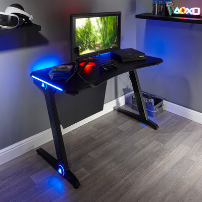 PlayStation® (Officially Licensed) Borealis X Rocker Gaming Desk (0517001)