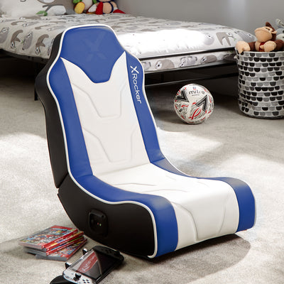 Chimera 2.0 Floor X Rocker® Gaming Chair - Blue