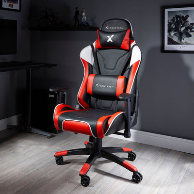 Agility eSports X Rocker® Office PC Chair Red (0745401)
