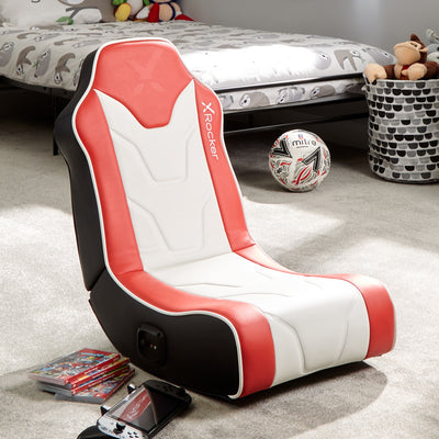Chimera 2.0 Floor X Rocker® Gaming Chair - Red