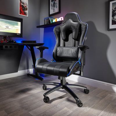 PlayStation® (Officially Licensed) Amarok LED X Rocker Office Chair (0722001)