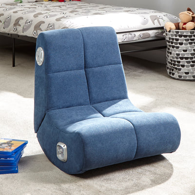 PlayPad 2.0 Floor X Rocker Gaming Chair (Blue)