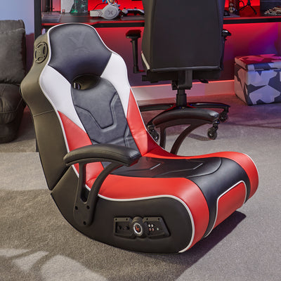 G-Force Sport 2.1 X Rocker Audio Gaming Chair with Subwoofer - Red (5130301)
