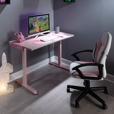 Pink Panther X Rocker® Gaming Desk (2020130)