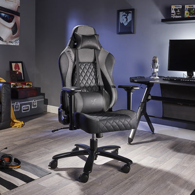 Delta X Rocker Office Gaming Chair (Silver Limited Edition)