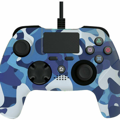 X Rocker PS4 Wired Controller - Blue Camo (5195101)