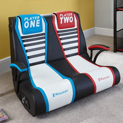 Dual VS Floor X Rocker® 2.1 Audio Gaming Chair - Seats 2 (5111301)