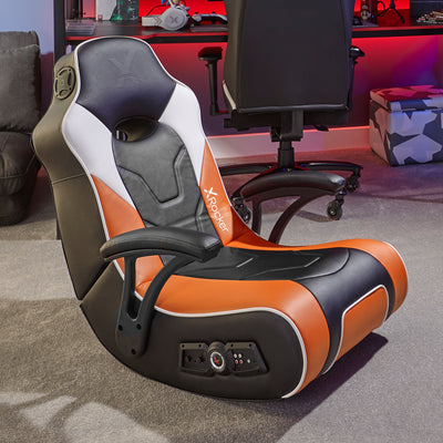 X Rocker G-Force Sport 2.1 Stereo Audio Gaming Chair with Subwoofer (ORANGE)