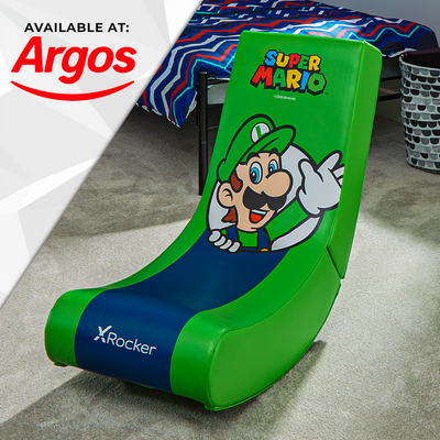 Official Super Mario™ X Rocker Video Rocker - Luigi - Spotlight Edition
