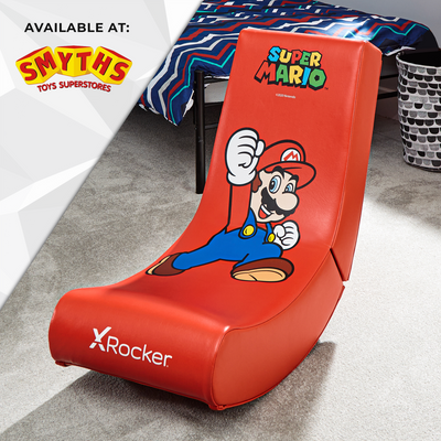 Official Super Mario Bros® X Rocker Video Rocker - Mario - Jump Edition