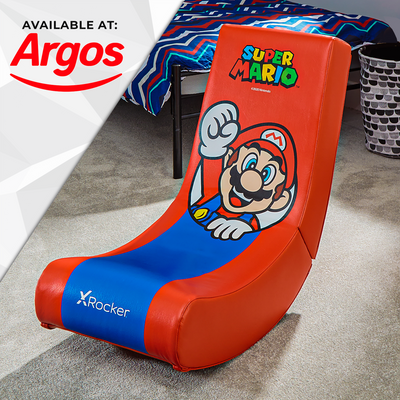 Official Super Mario Bros® X Rocker Video Rocker - Mario - Spotlight Edition