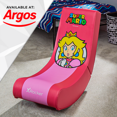 Official Super Mario Bros® X Rocker Video Rocker - Princess Peach - Spotlight Edition