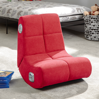 PlayPad 2.0 Floor X Rocker® Gaming Chair - Red (5132101)