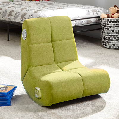 PlayPad 2.0 Floor X Rocker® Gaming Chair - Green (5115601)