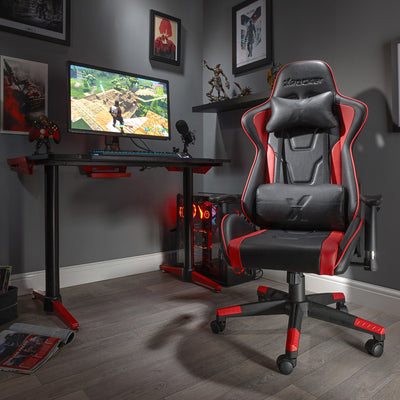 Bravo X Rocker® Office PC Chair - Red (0790001)