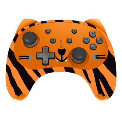 X Rocker® Gaming Wireless Controller for use with Switch - Tiger (5148001)