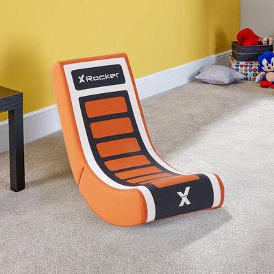X Rocker® Video Rocker Floor Gaming Chair for Kids - Orange (5121101)