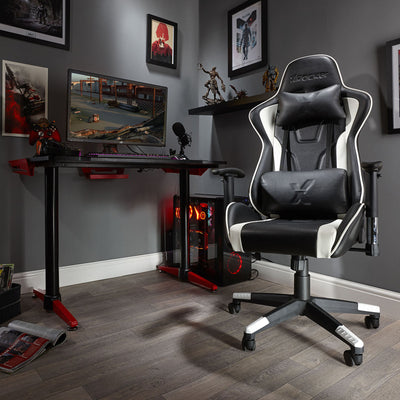 Bravo X Rocker® Office PC Chair - White (0790401)