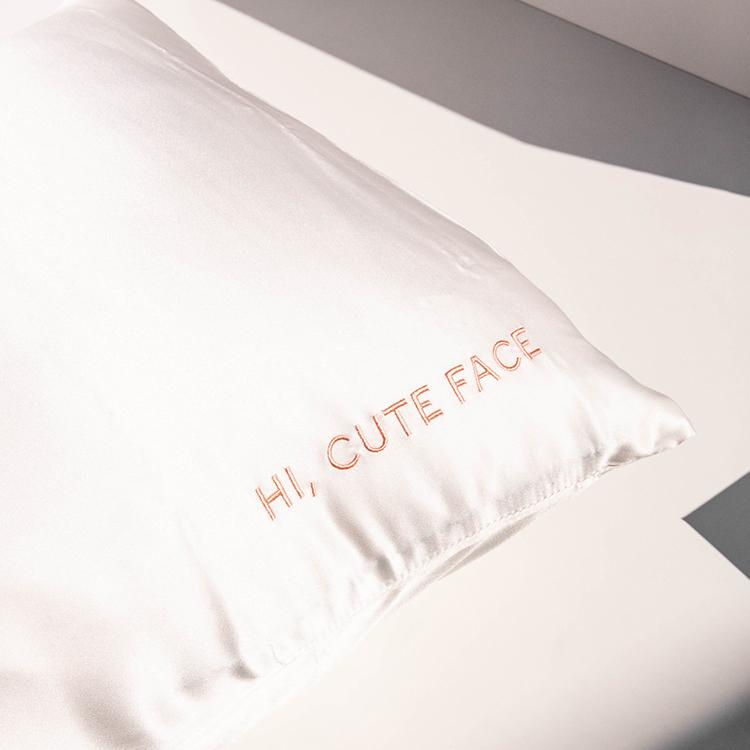 Face Case Silk Pillowcase, Go-To Skin Care