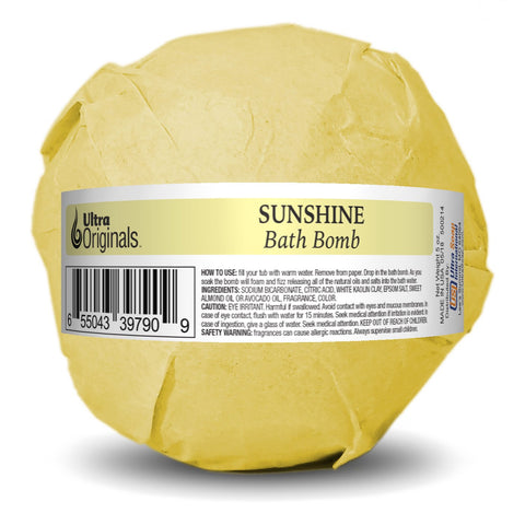 Ultra Originals™ Bath Bomb - Sunshine - 3 Pack