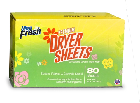 Ultra Fresh® Island Fresh™ Dryer Sheets