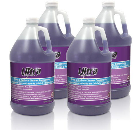 Ultra Professional™ Glass & Surface Cleaner Concentrate