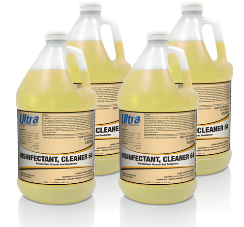Ultra Professional - Q-64 Disinfectant Cleaner Concentrate