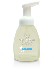 Ultra Originals - Foaming Hand Soap - Fragrance Free Dye Free™ - 8 oz Filled Reusable Dispenser